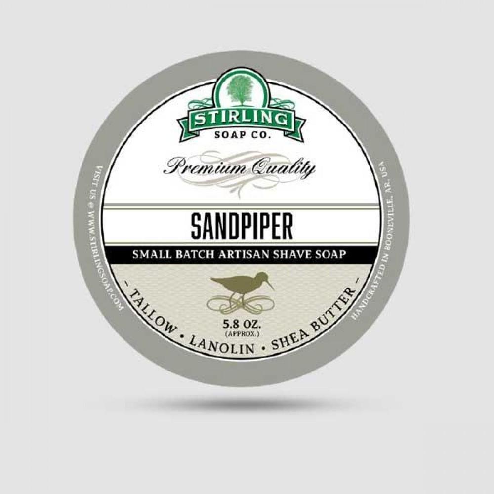 Σαπούνι Ξυρίσματος - Stirling Soap Company - Sandpiper 170ml