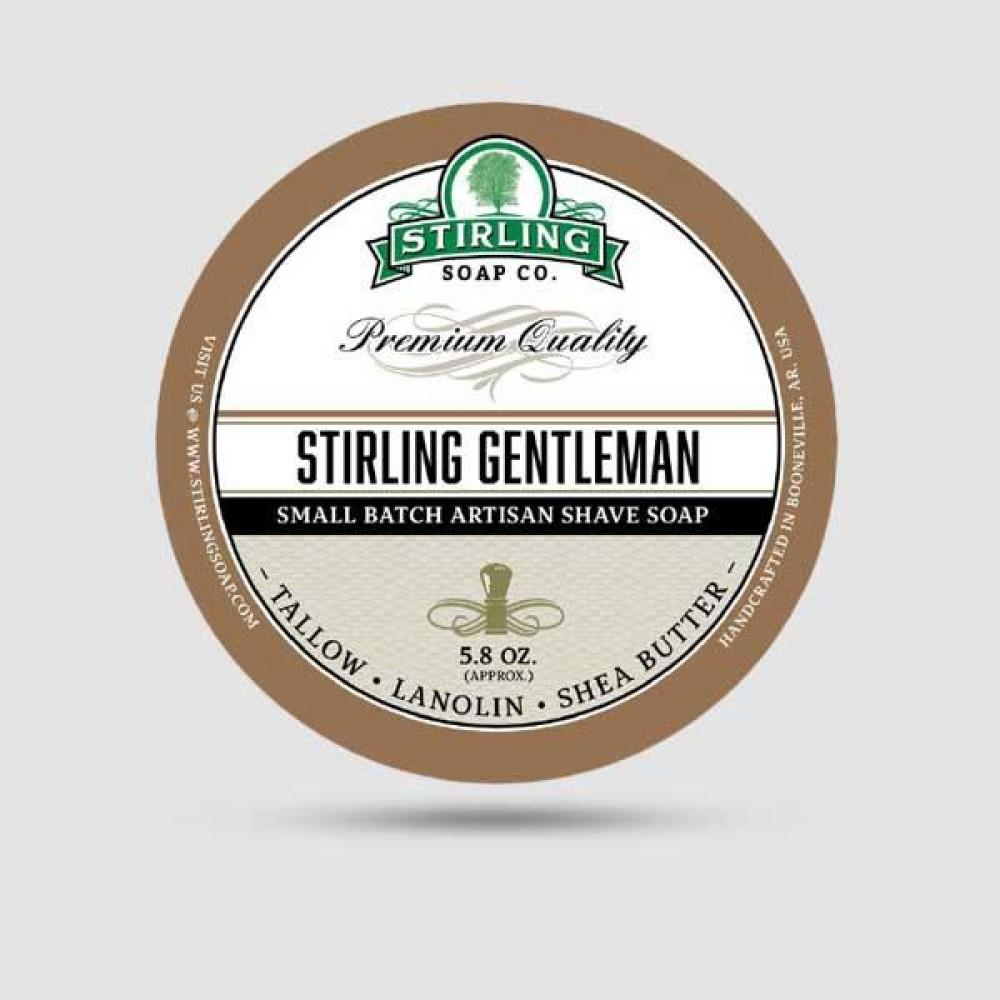 Σαπούνι Ξυρίσματος - Stirling Soap Company - Stirling Gentleman 170ml