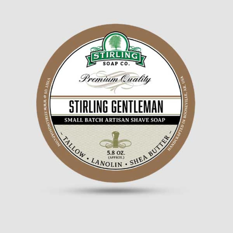 Σαπούνι Ξυρίσματος - Stirling Soap Company - Stirling Gentleman 170ml
