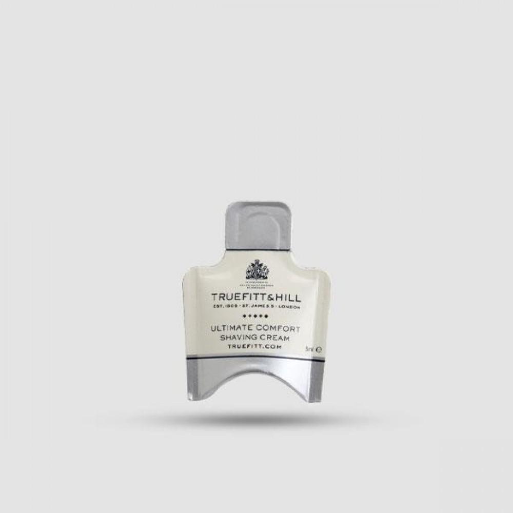 Κρέμα Ξυρίσματος - Truefitt And Hill - Ultimate Comfort Sample 5ml Δείγμα
