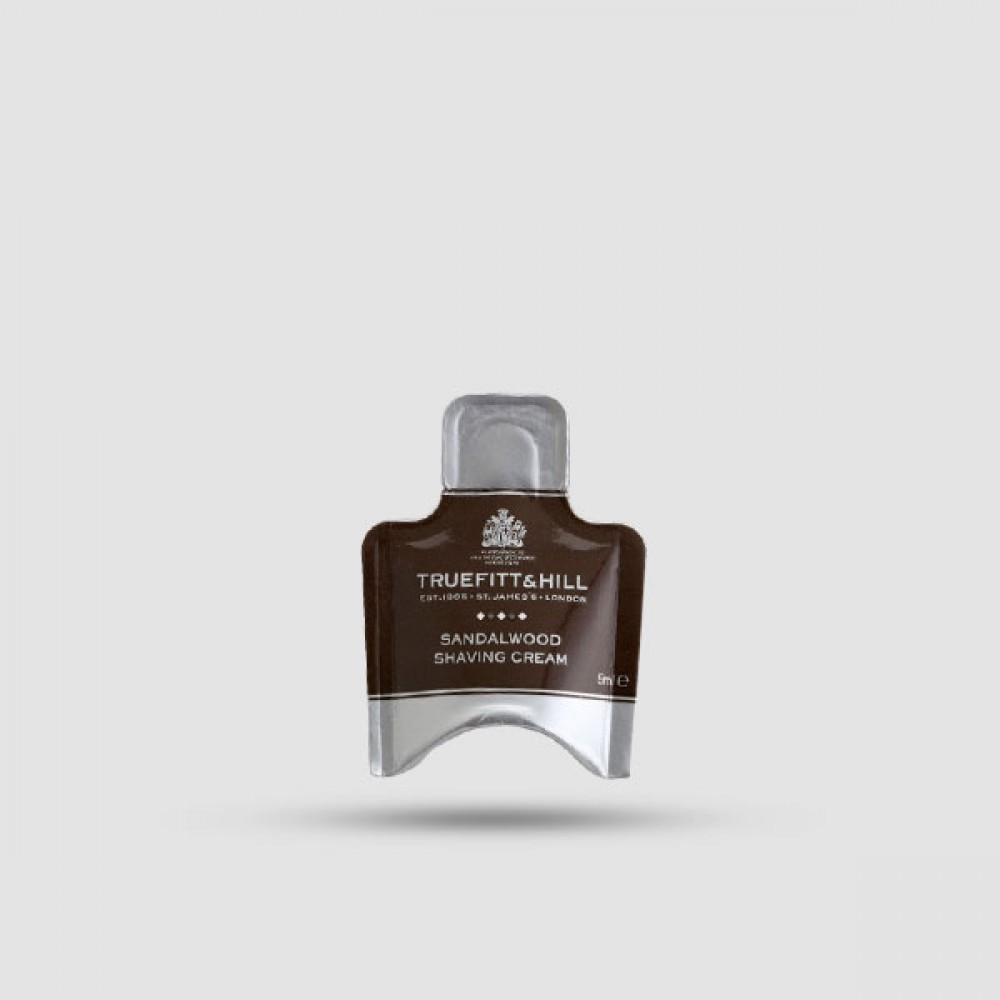 Κρέμα Ξυρίσματος - Truefitt And Hill - Σανδαλόξυλο 5ml Δείγμα