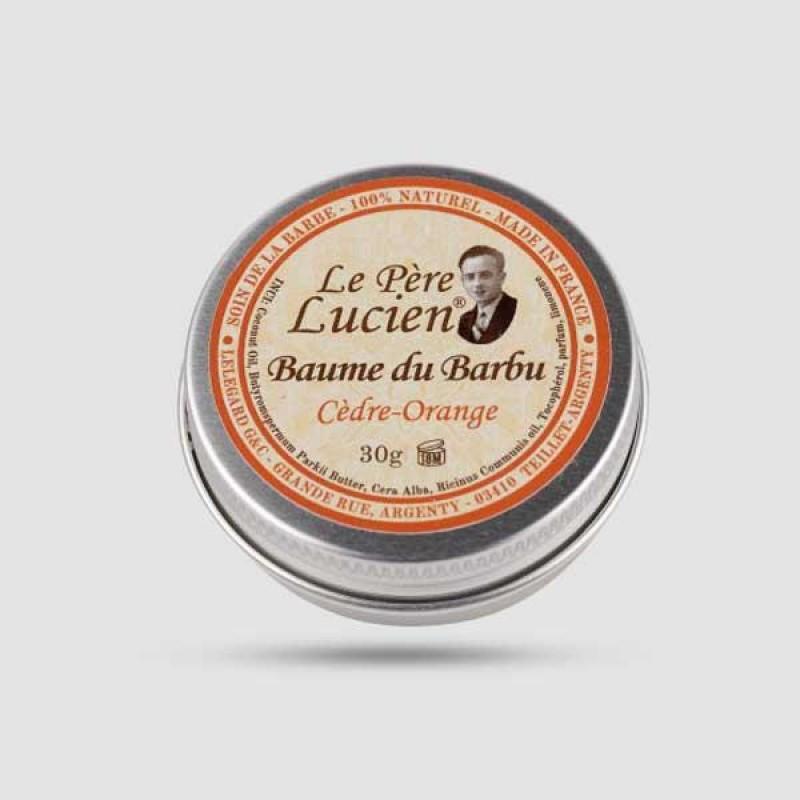 Balm Για Γένια - Le Pere Lucien - Cedar | Orange 30g