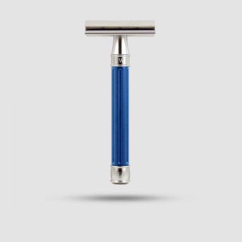 Ξυριστική Μηχανή -Edwin Jagger - 3ONE6 Stainless Stee Blue