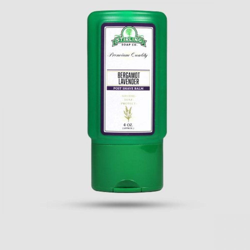 Aftershave Balm - Stirling Soap Company - Με Άρωμα Περγαμόντο Λεβάντα 118ml