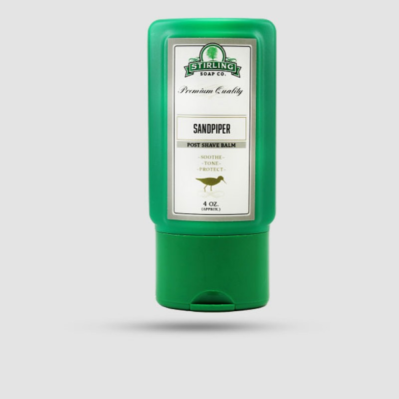 Aftershave Balm - Stirling Soap Company - Sandpiper 118ml