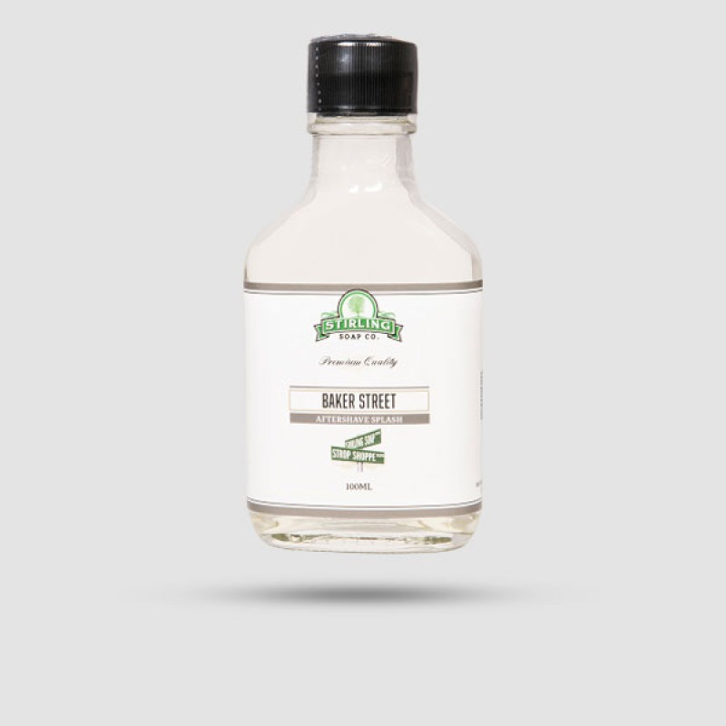Aftershave Lotion - Stirling Soap Company - Baker Street 100ml