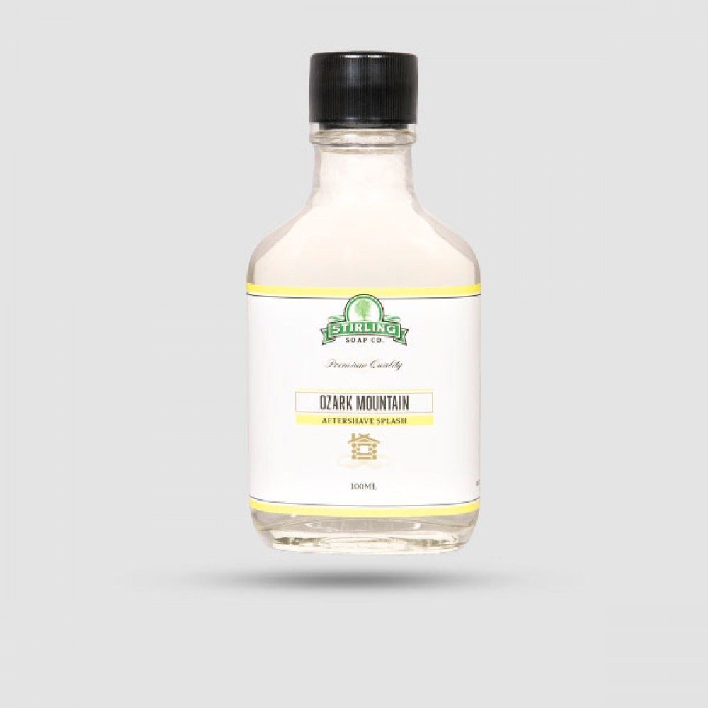 Aftershave Lotion - Stirling Soap Company - Ozark Mountain 100ml