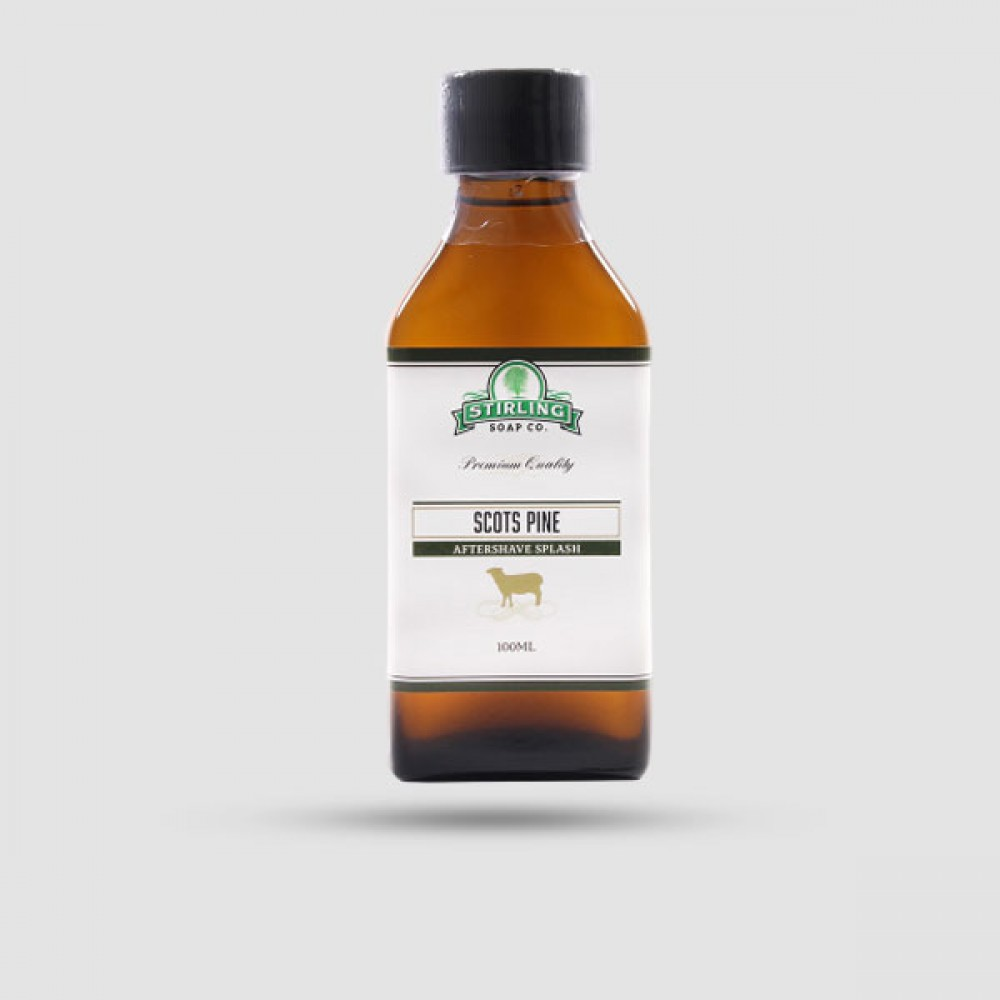 Aftershave Lotion - Stirling Soap Company - Scots Pine Sheep 100ml