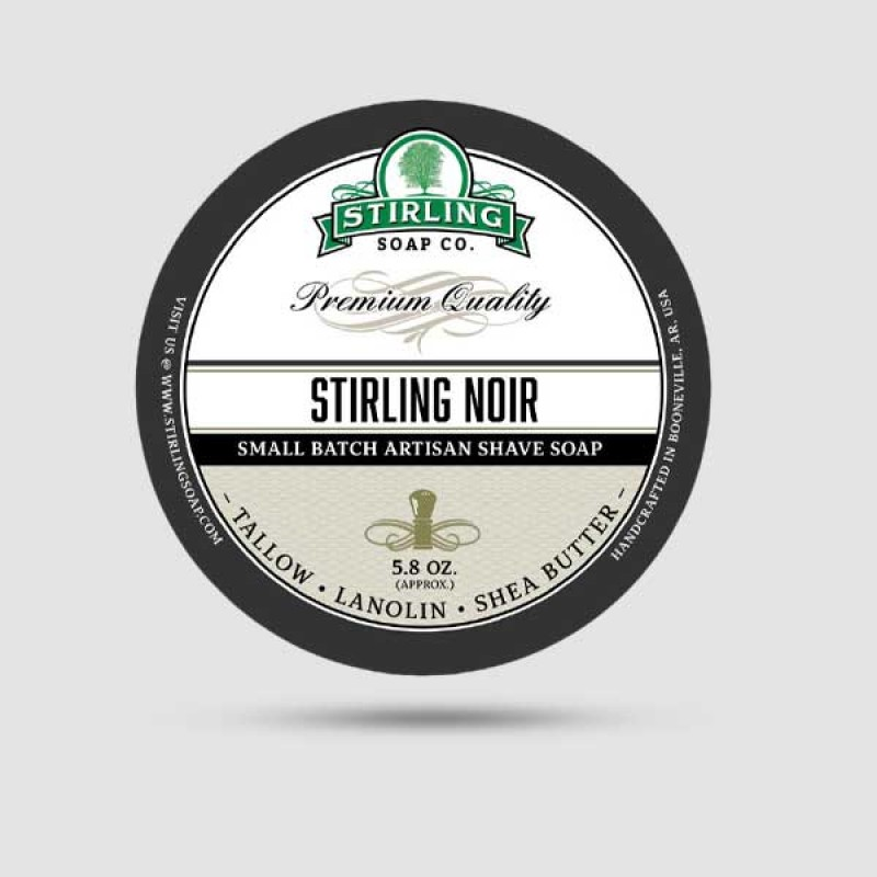 Σαπούνι Ξυρίσματος - Stirling Soap Company - Stirling Noir 170ml