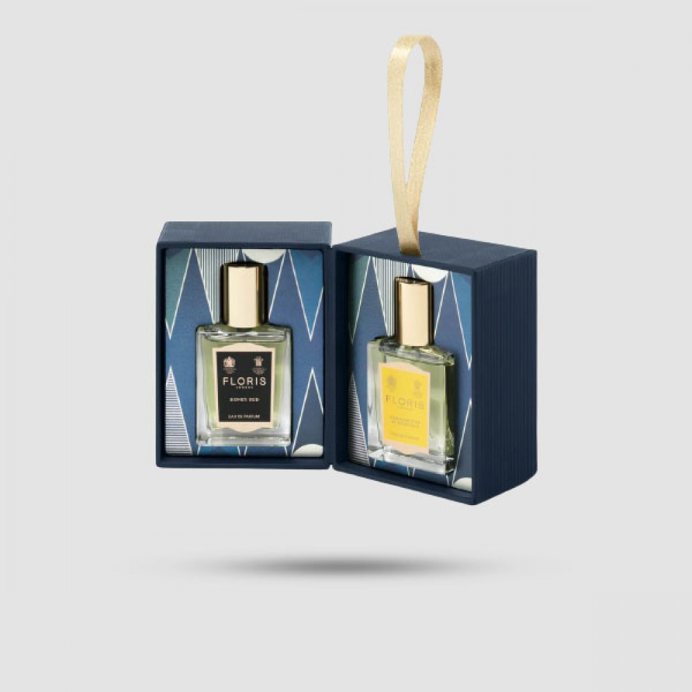 Fragrance Ornament - Floris London - Honey Oud   Bergamotto di Positano 2 x 15ml