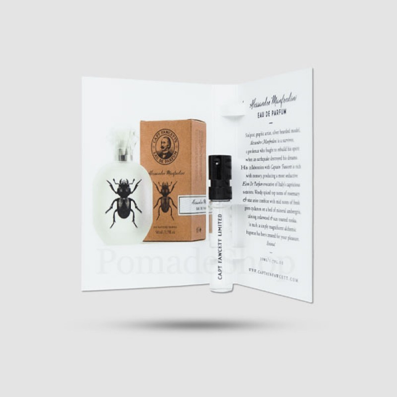 Eau De Parfum - Captain Fawcett - Alessandro Manfredini 2ml Sample