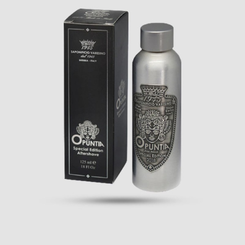 Aftershave Lotion - Saponificio Varesino - Opuntia - in aluminium bottle 125ml