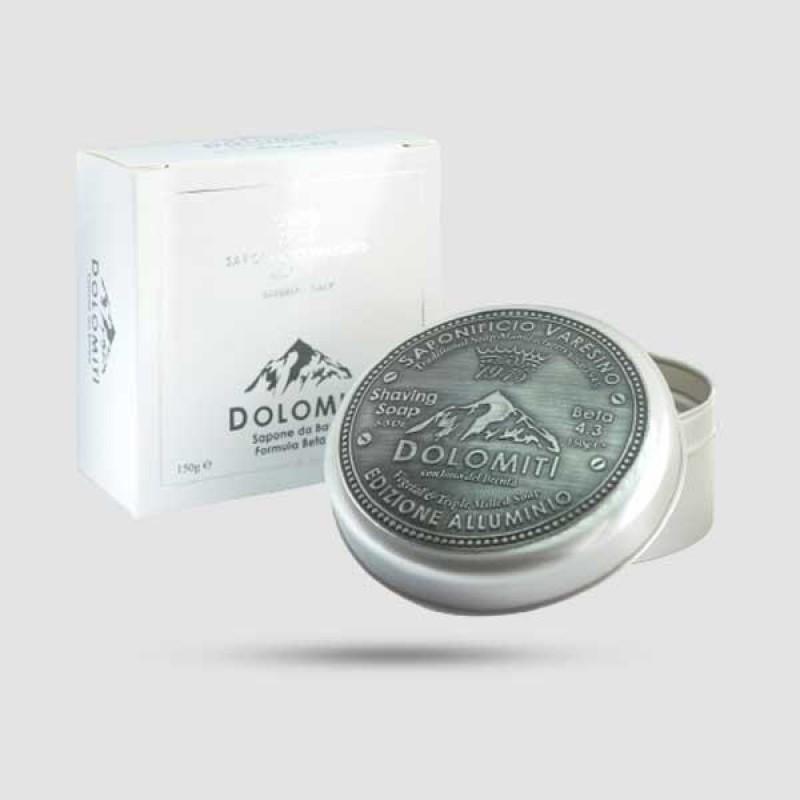 Σαπούνι Ξυρίσματος - Saponificio Varesino - Dolomiti in aluminium jar 150gr