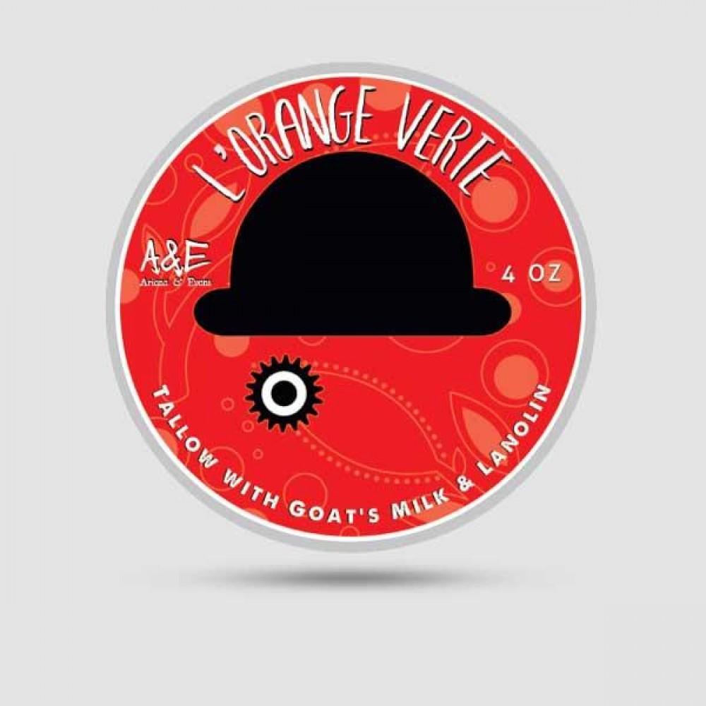Σαπούνι Ξυρίσματος - Ariana & Evans - LOrange Verte 118ml