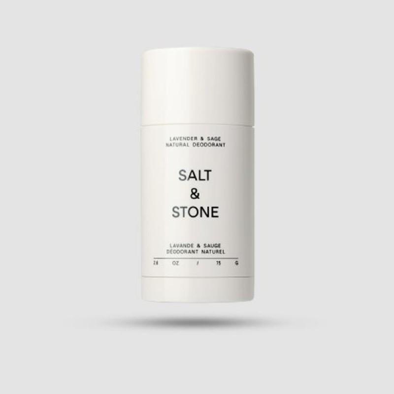 Αποσμητικό - Salt and Stone - Λεβάντα & Φασκόμηλο 75g