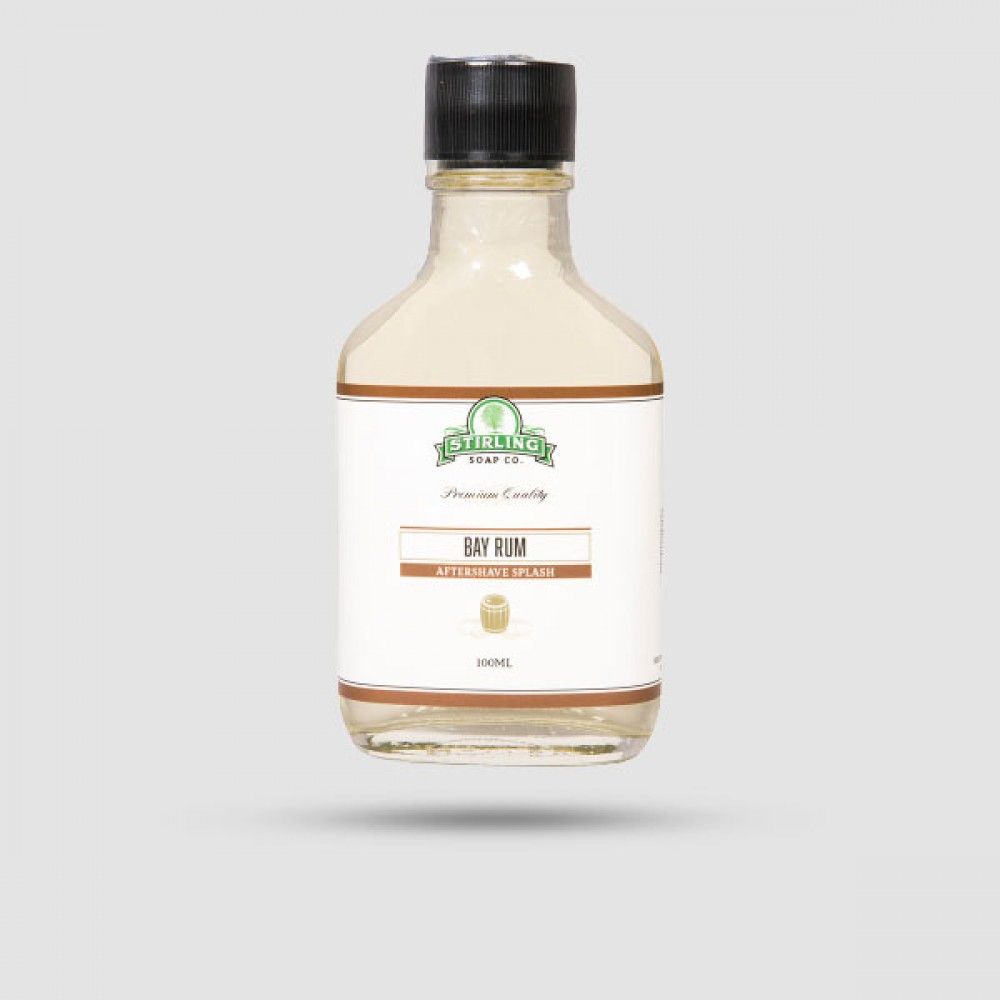 Aftershave Lotion - Stirling Soap Company - Bay Rum 100ml