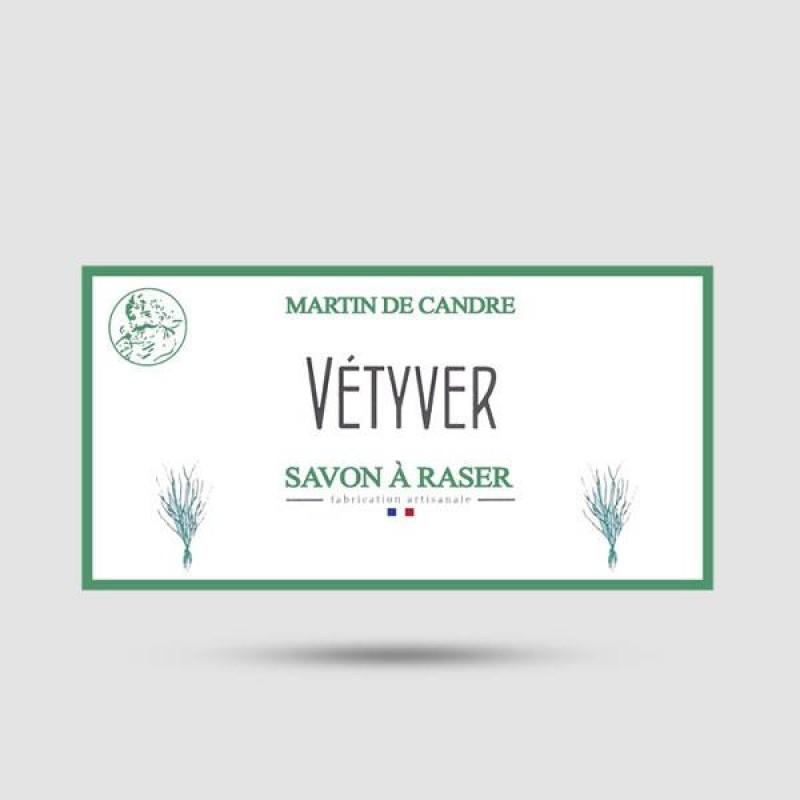 Shaving Soap - Martin de Candre - Vetiver