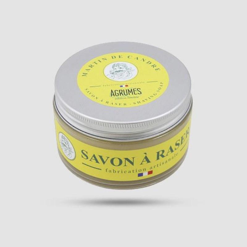 Shaving Soap - Martin de Candre - Agrumes 200g