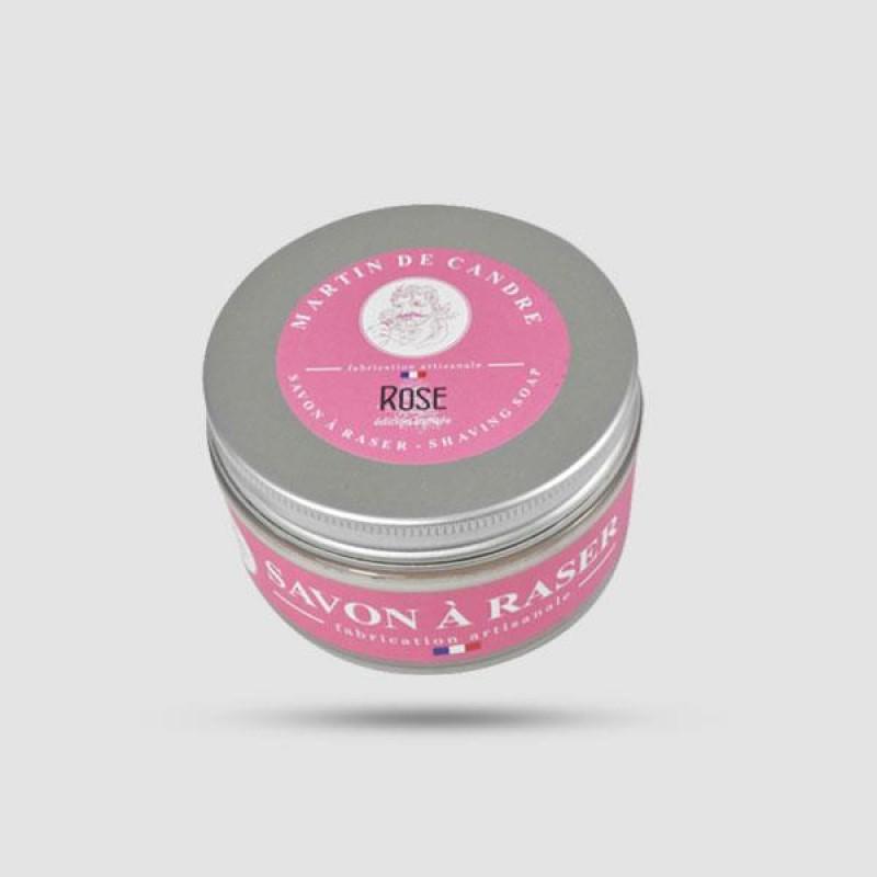 Shaving Soap - Martin de Candre - Rose 50g