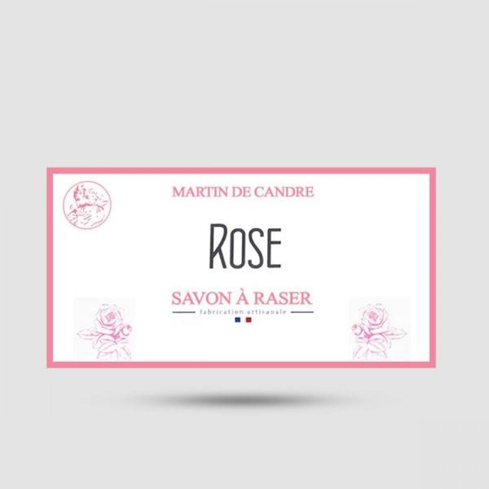 Σαπούνι Ξυρίσματος - Martin de Candre - Άρωμα Τριαντάφυλλου
