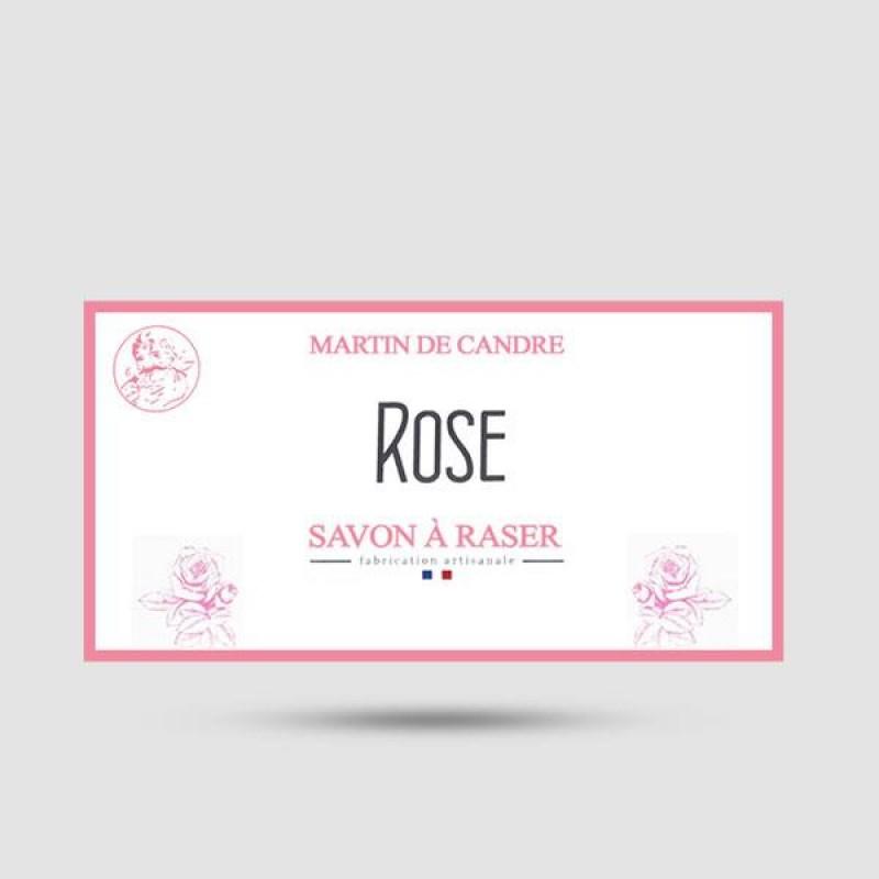 Shaving Soap - Martin de Candre - Rose
