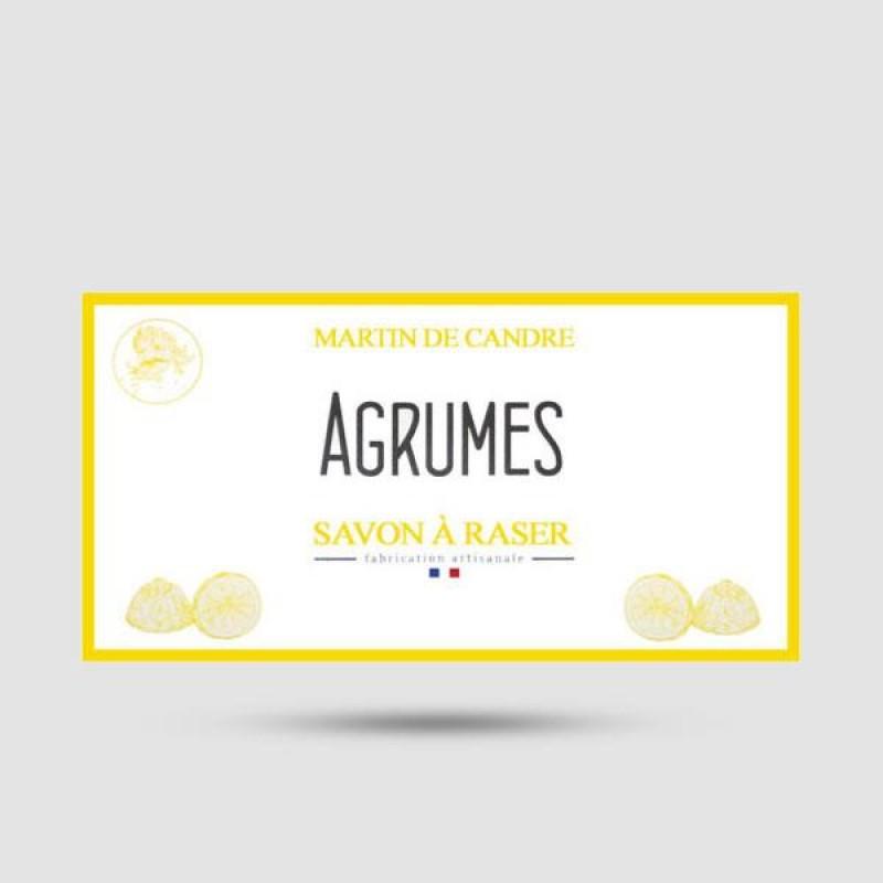 Shaving Soap - Martin de Candre - Agrumes