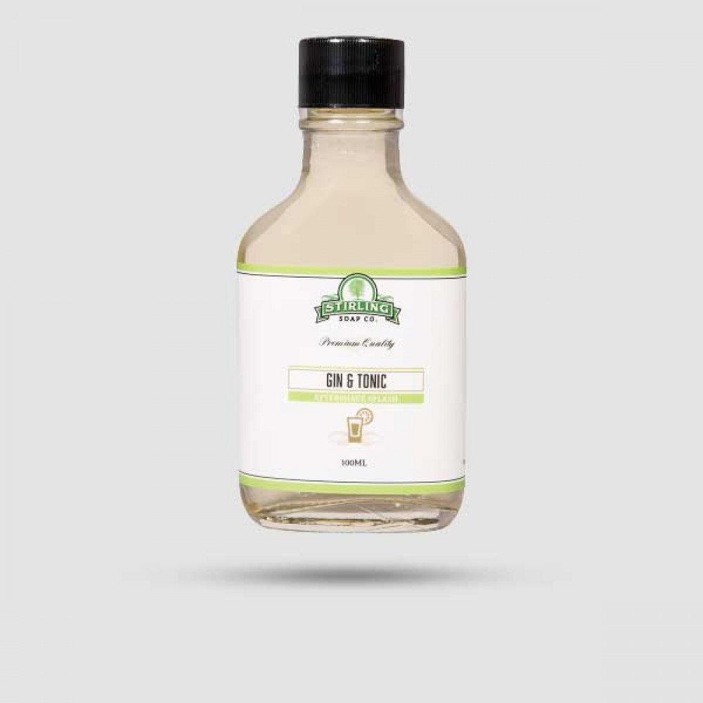 Aftershave Lotion - Stirling Soap Company - Gin & Tonic on the Rocks 100ml
