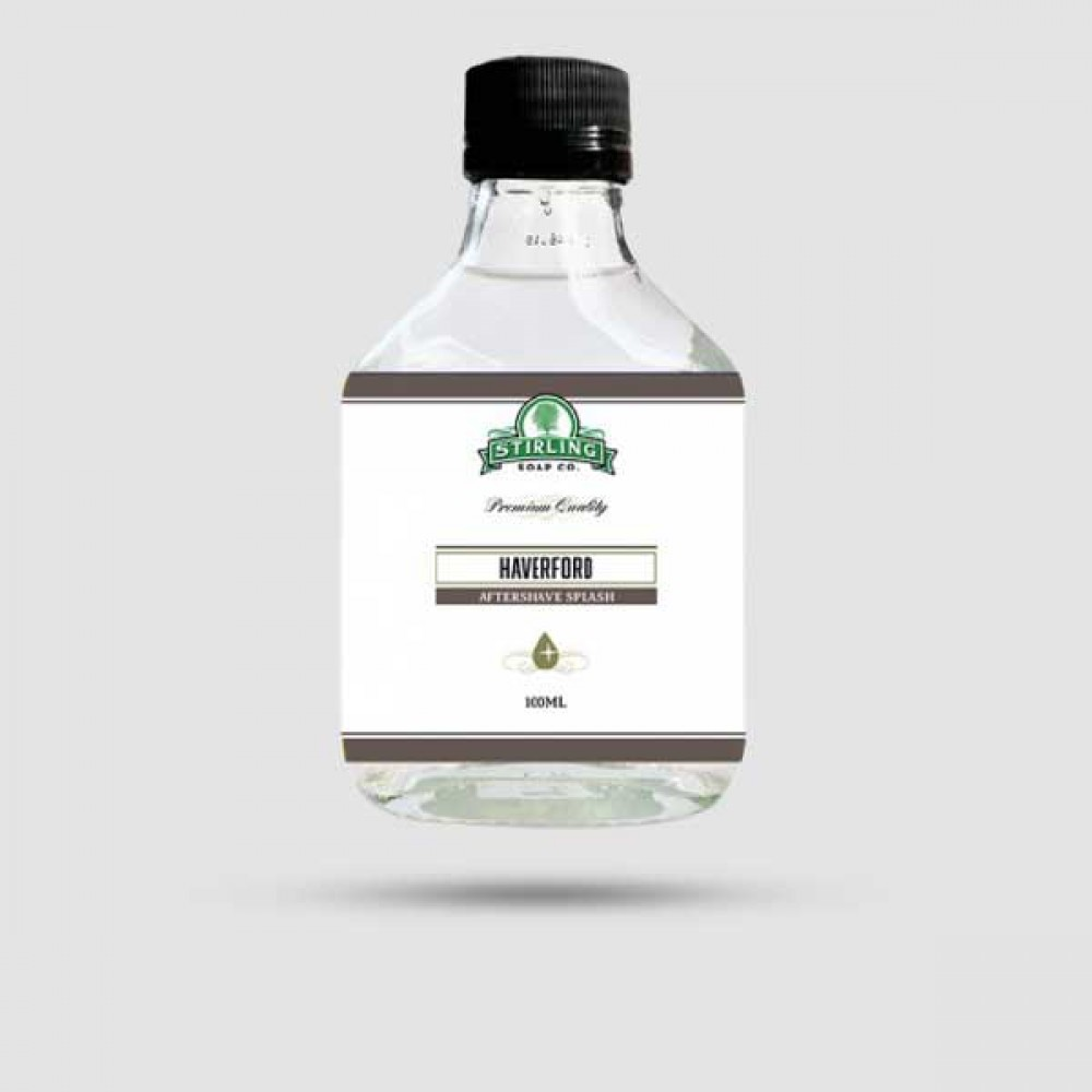 Aftershave Lotion - Stirling Soap Company - Haverford 100ml