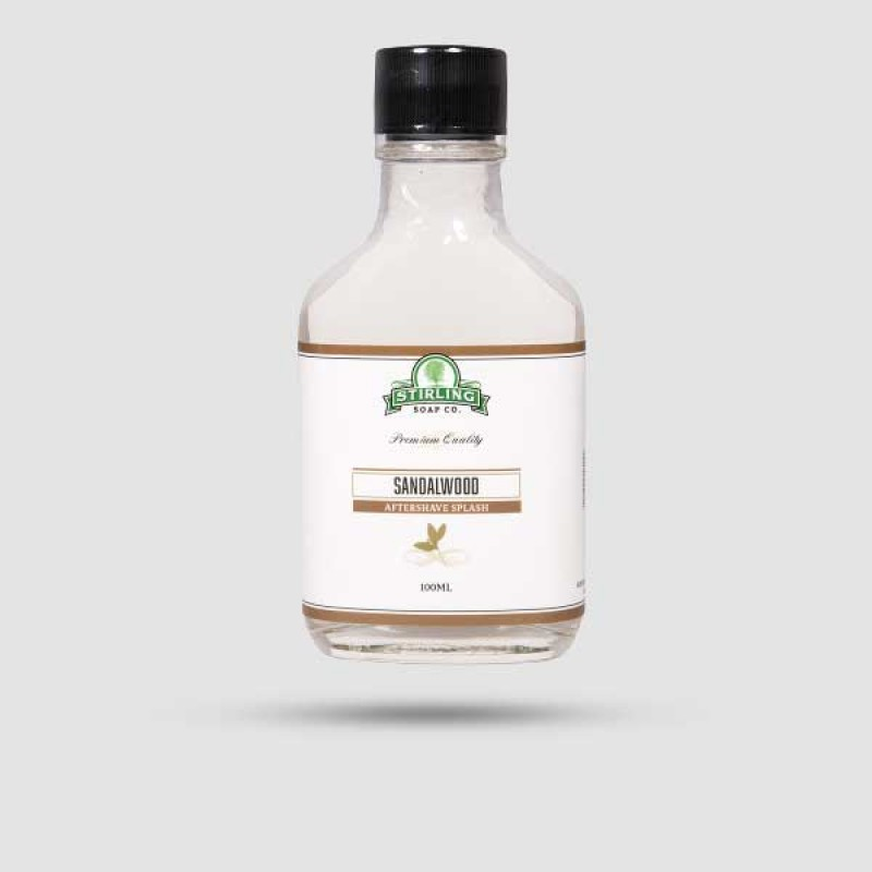 Aftershave Lotion - Stirling Soap Company - Sandalwood 100ml