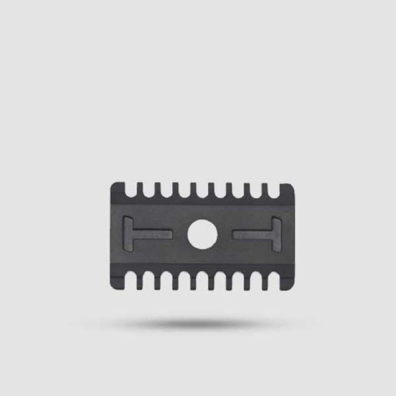 Base Plate for - Tatara - Masamune Nodachi Dark Open Comb Blade gap: 0.90 mm (MNMOONLY)