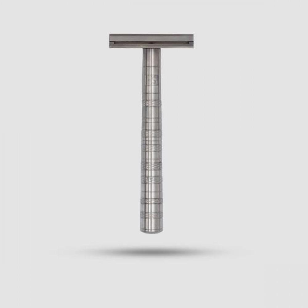 Safety Razor - Henson Shaving - Titanium (Ti22)