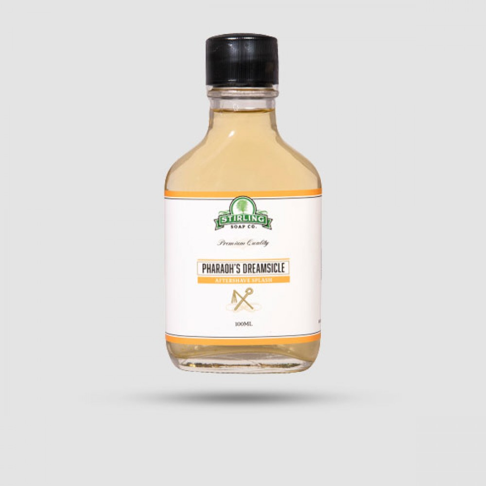 Aftershave Lotion - Stirling Soap Company - Pharaohs Dreamsicle 100ml