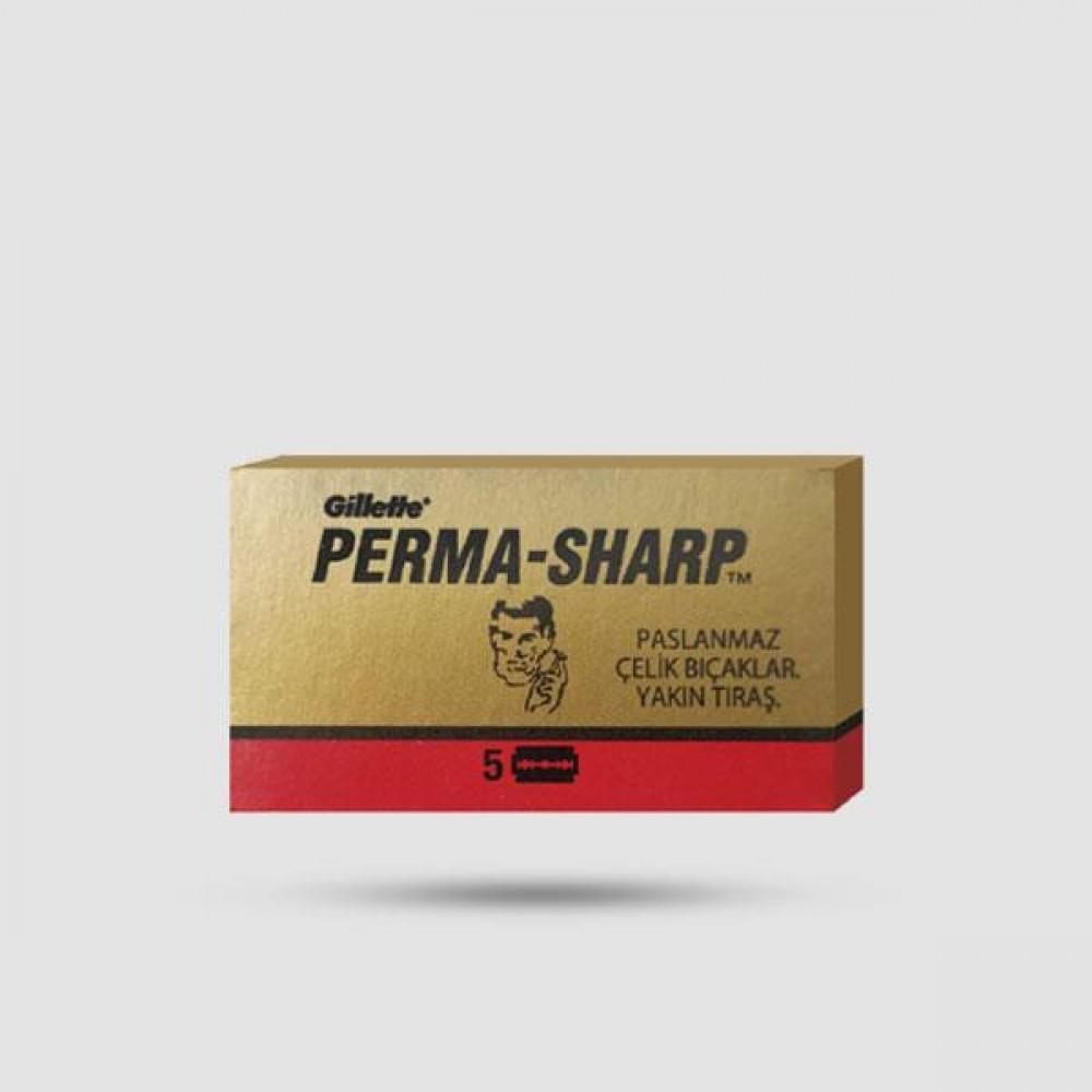 Ανταλλακτικές Λεπίδες Ξυρίσματος - Perma Sharp - 1 X 5