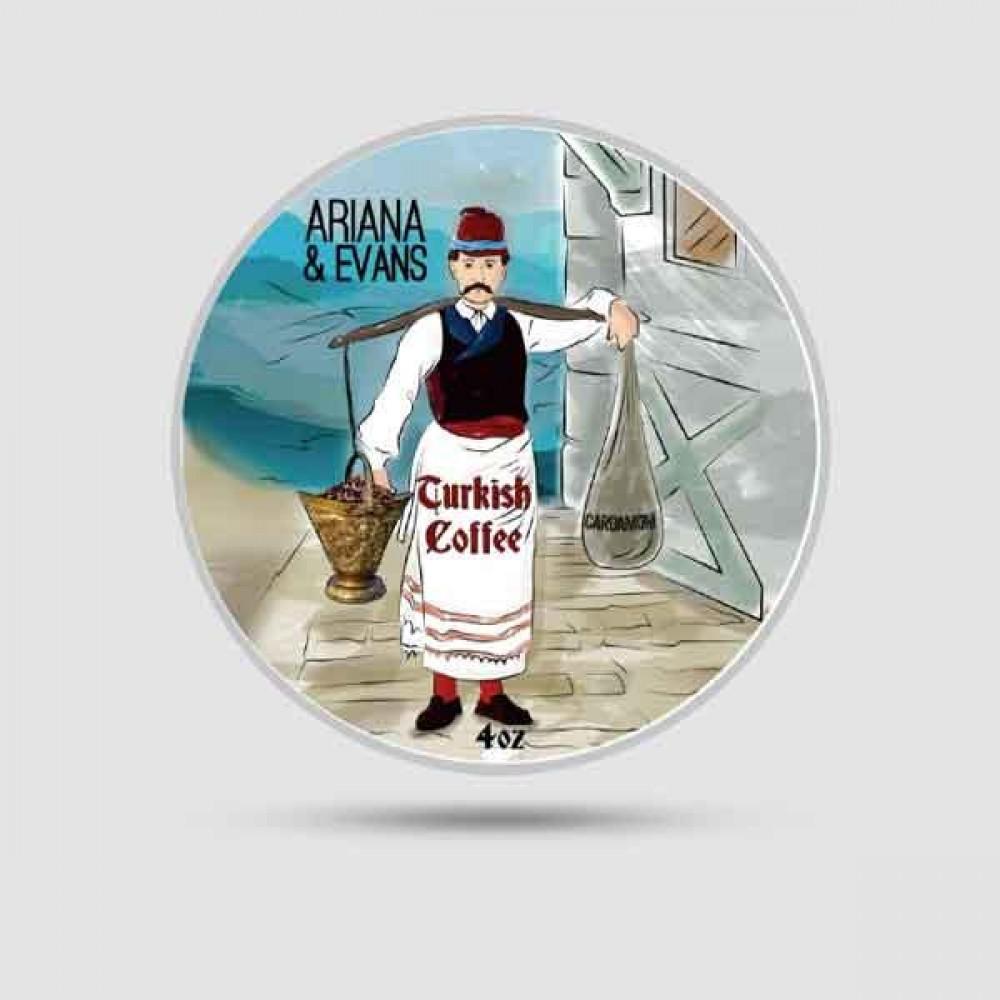 Σαπούνι Ξυρίσματος - Ariana & Evans - Turkish Coffee 118ml
