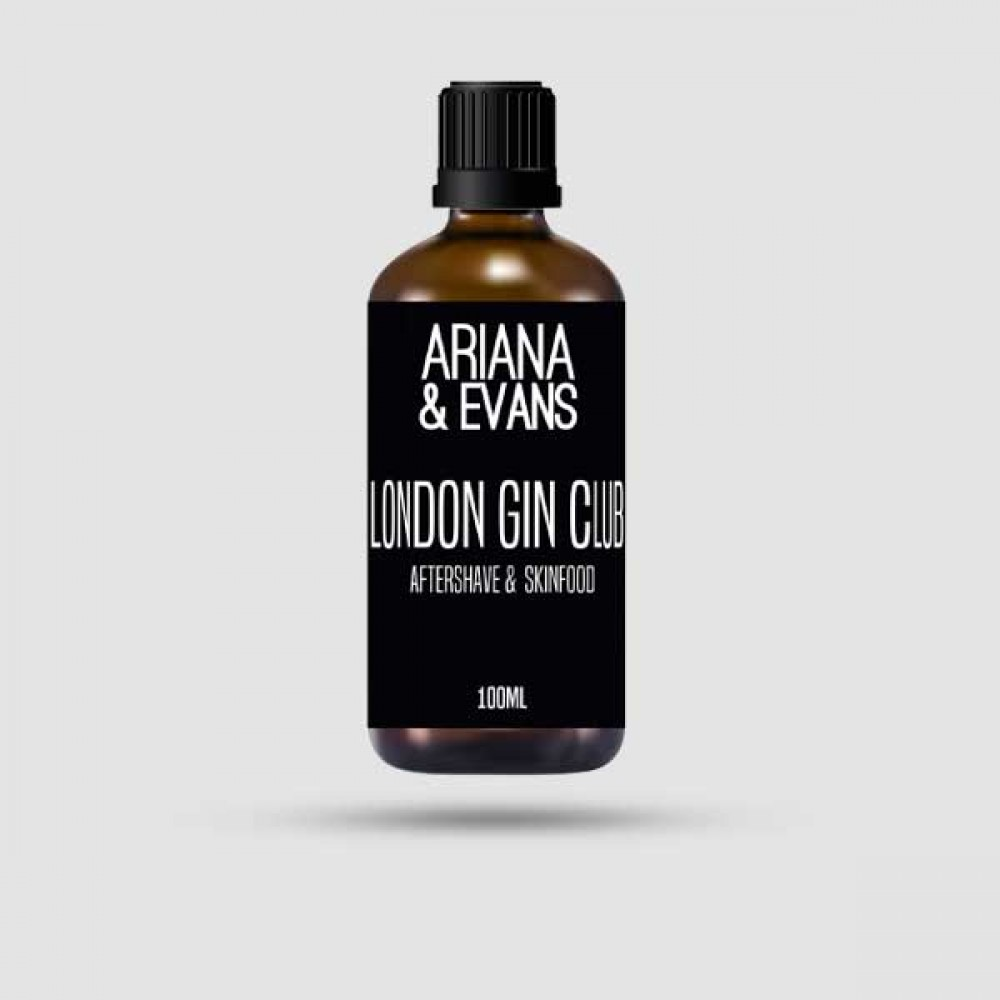 Aftershave Lotion - Ariana & Evans - London Gin Club 100ml