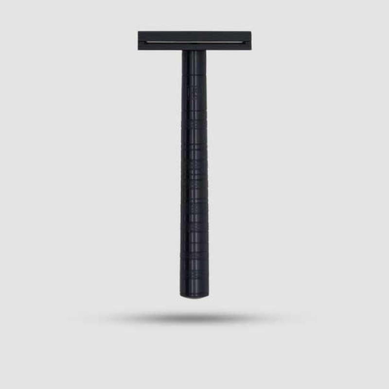 Safety Razor - Henson Shaving - Jet Black Aluminum