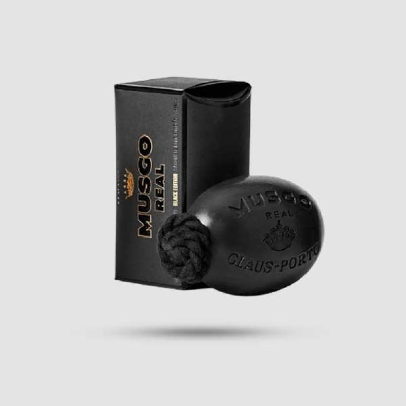 Soap On A Rope - Musgo Real - Black Edition 190g