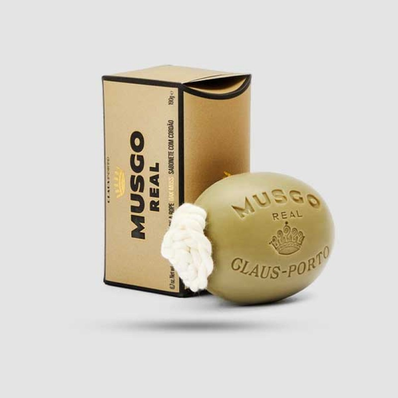 Soap On A Rope - Musgo Real - Oak Moss 190g / 6,7 oz.