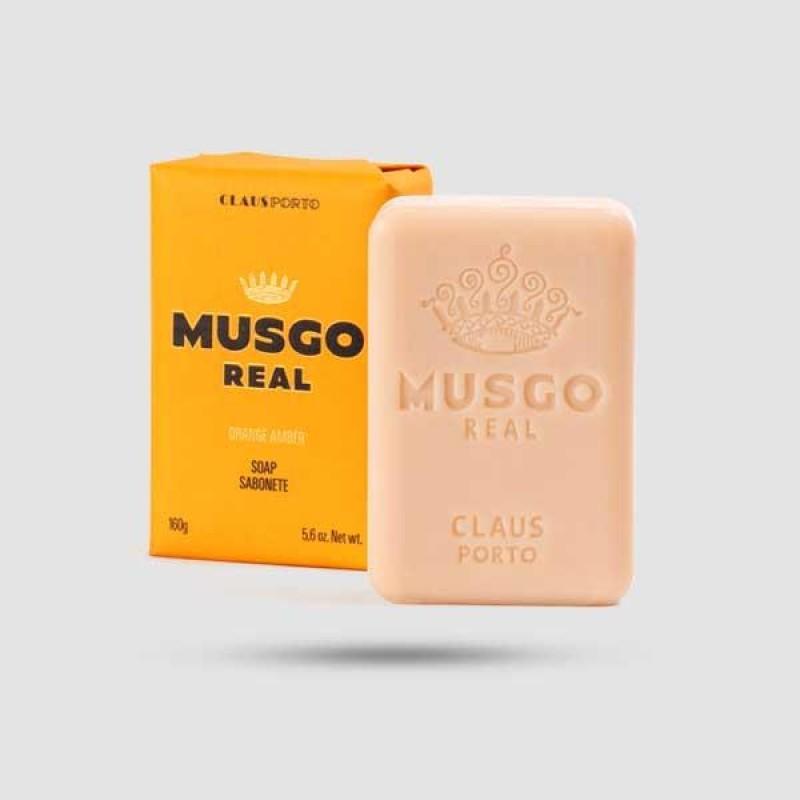 Mens Body Soap - Musgo Real - Orange Amber 160g / 5,6 oz.