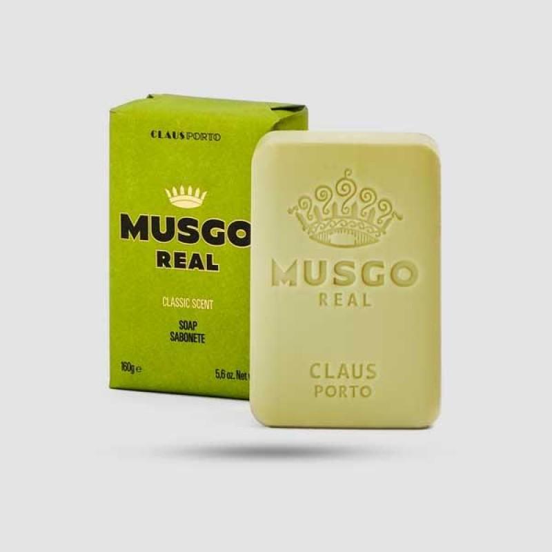 Mens Body Soap - Claus Porto - Classic Scent 160g / 5,6 oz.