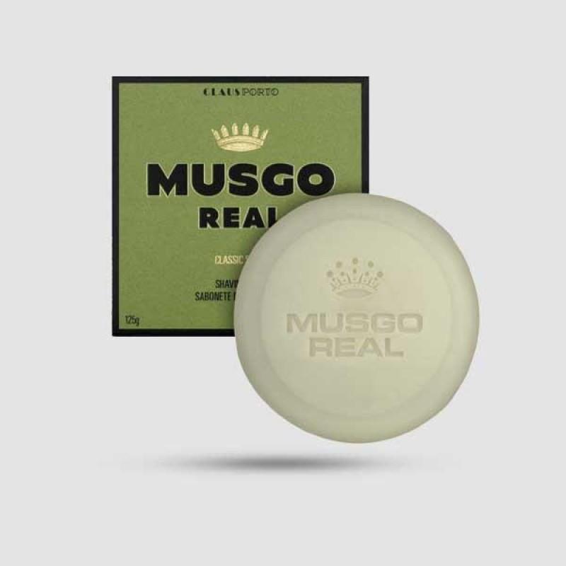 Shaving Soap - Musgo Real - Classic Scent 125g / 4,4 oz.