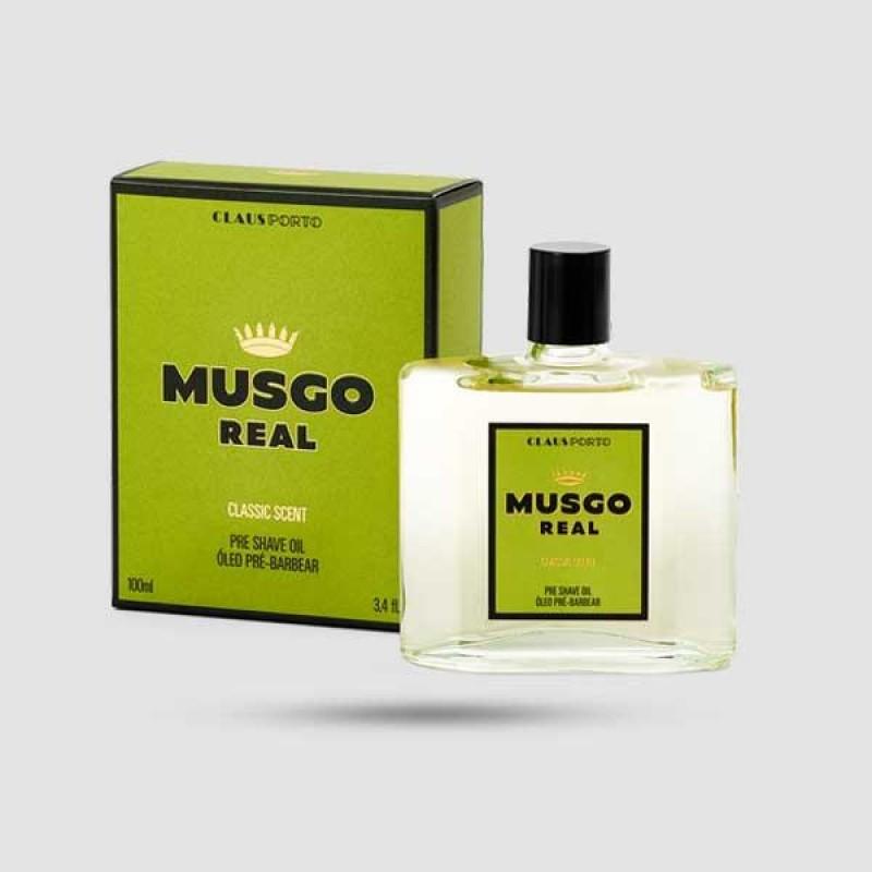 Pre-Shave Oil - Musgo Real - Classic Scent 100ml / 3,4 fl.oz