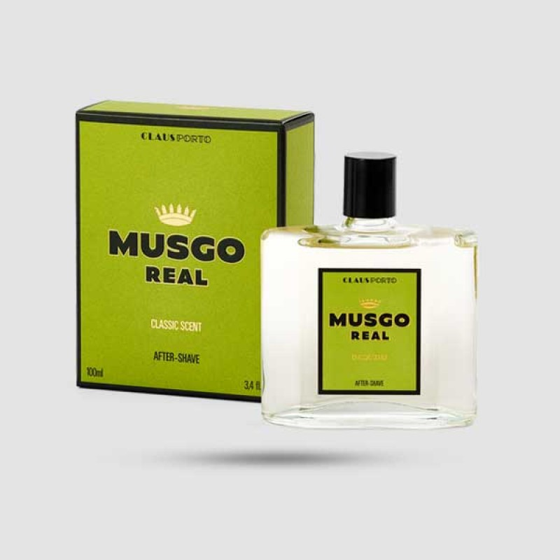 Aftershave Lotion - Musgo Real - Classic Scent 100ml / 3,4 fl.oz