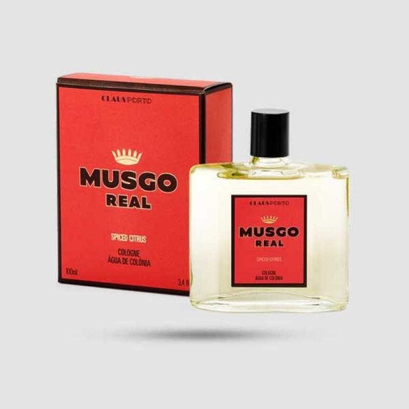 Eau De Cologne - Musgo Real - Spiced Citrus 100ml / 3.4 fl. oz.