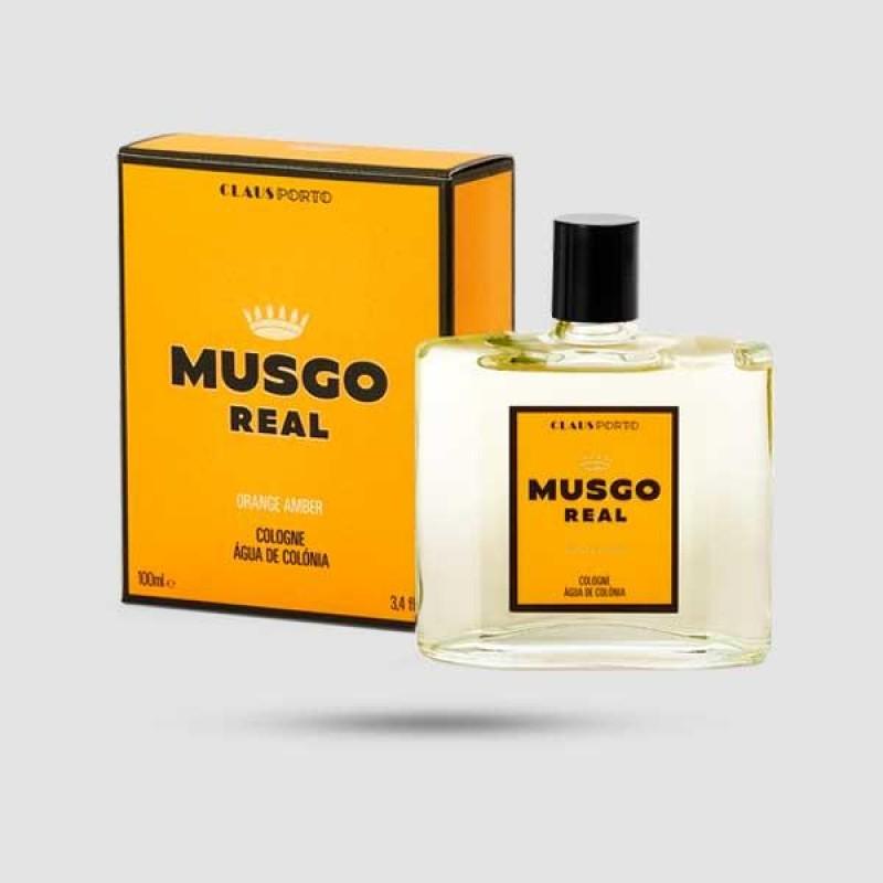 Eau De Cologne - Musgo Real - Orange Amber 100ml / 3.4 fl. oz.