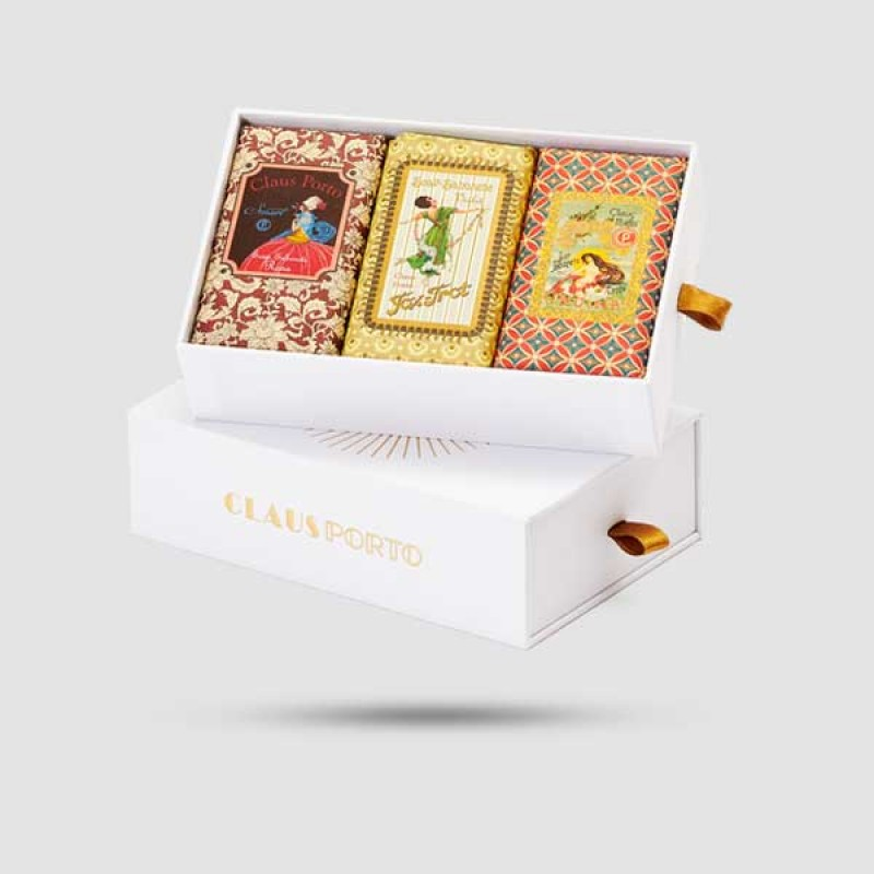 Gift Box - Claus Porto - 3 x Sealed Soap | Smart / Fox Trot / Ondina | 150g