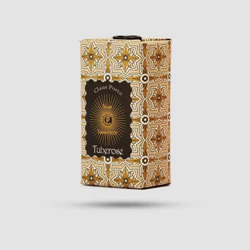 Soap Bar - Claus Porto - Black Sumburst Tuberose 150g / 5,3 oz.