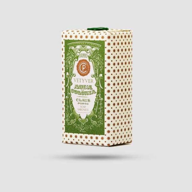 Soap Bar - Claus Porto - Agua Colognia Vetiver 150g / 5,3 oz.
