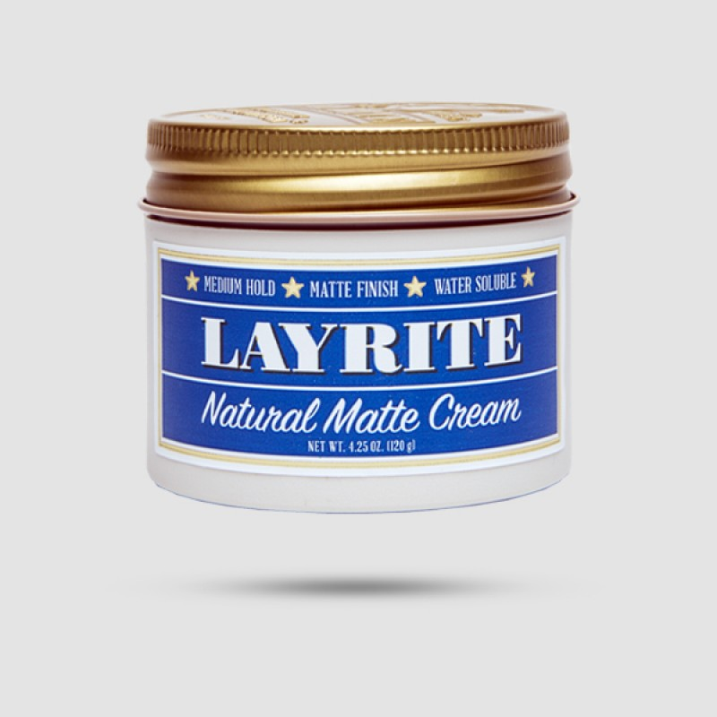 Κρέμα Για Μαλλιά - Layrite - Natural Matte Cream  120gr / 4,25oz