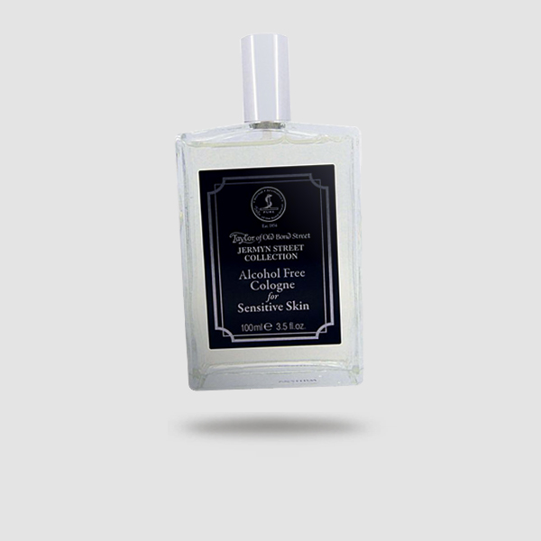 EAU DE COLOGNE - TAYLOR OF OLD BOND STREET - JERMYN STREET COLLECTION, ALCOHOL FREE, FOR SENSITIVE SKIN 100ML / 3.5FL OZ